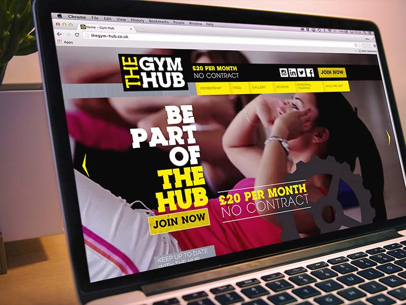 The Gym Hub Website