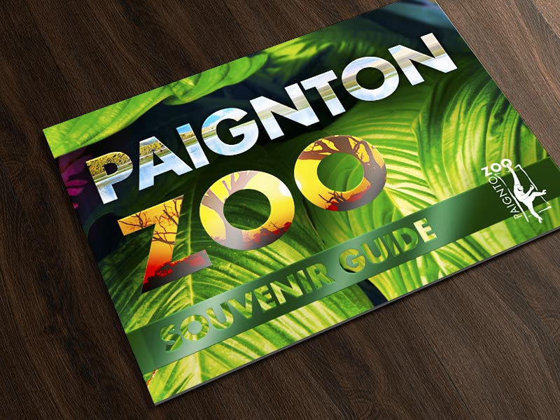 Paignton Zoo guide cover